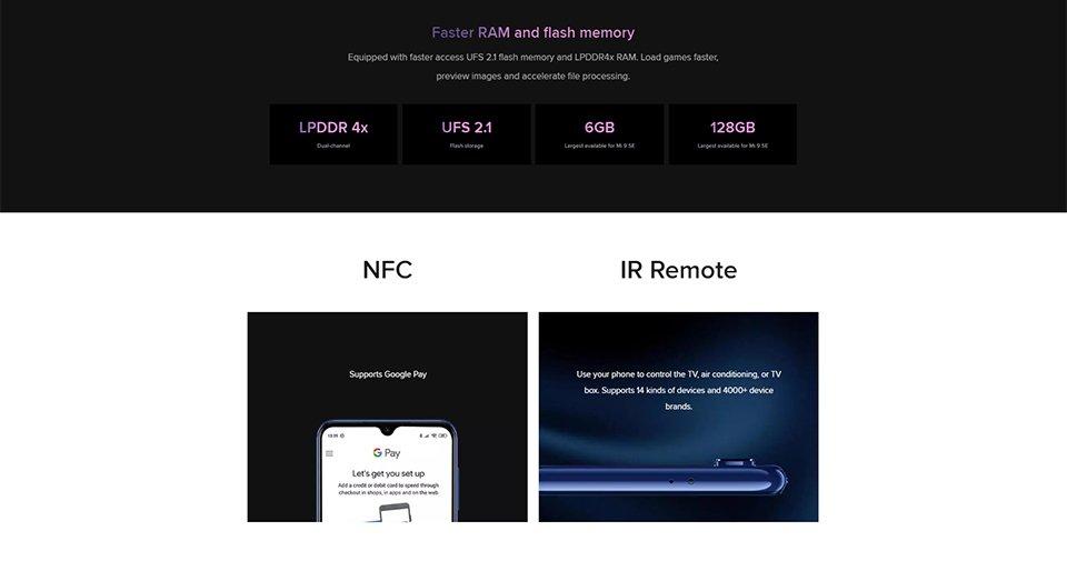 گوشی شیائومی مدل Mi 9 SE ظرفیت 128 گیگابایت 9