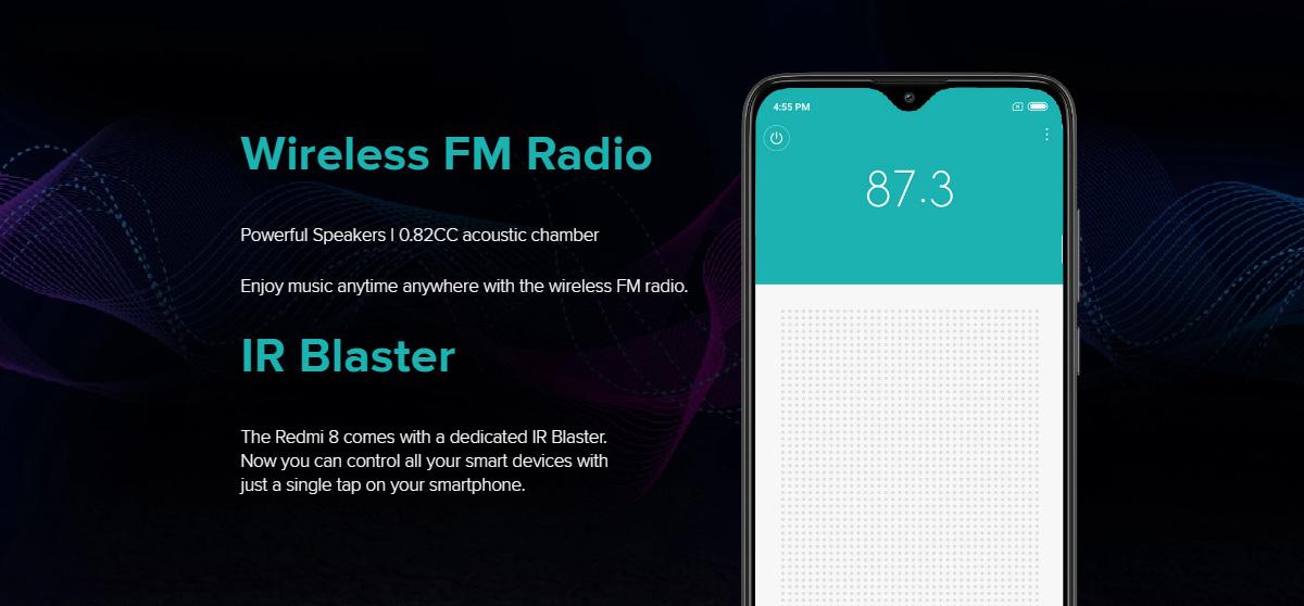 گوشی شیائومی مدل Redmi 8 ظرفیت 32 گیگابایت 8