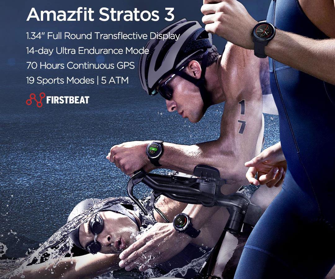 ساعت هوشمند شیائومی مدل Amazfit Stratos 3 1