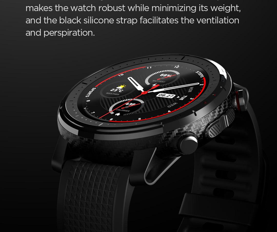ساعت هوشمند شیائومی مدل Amazfit Stratos 3 3