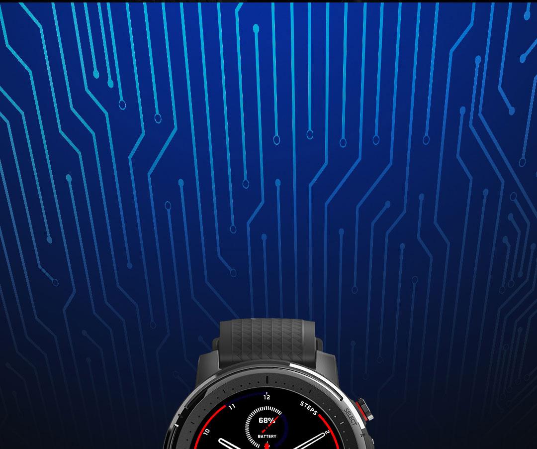ساعت هوشمند شیائومی مدل Amazfit Stratos 3 4