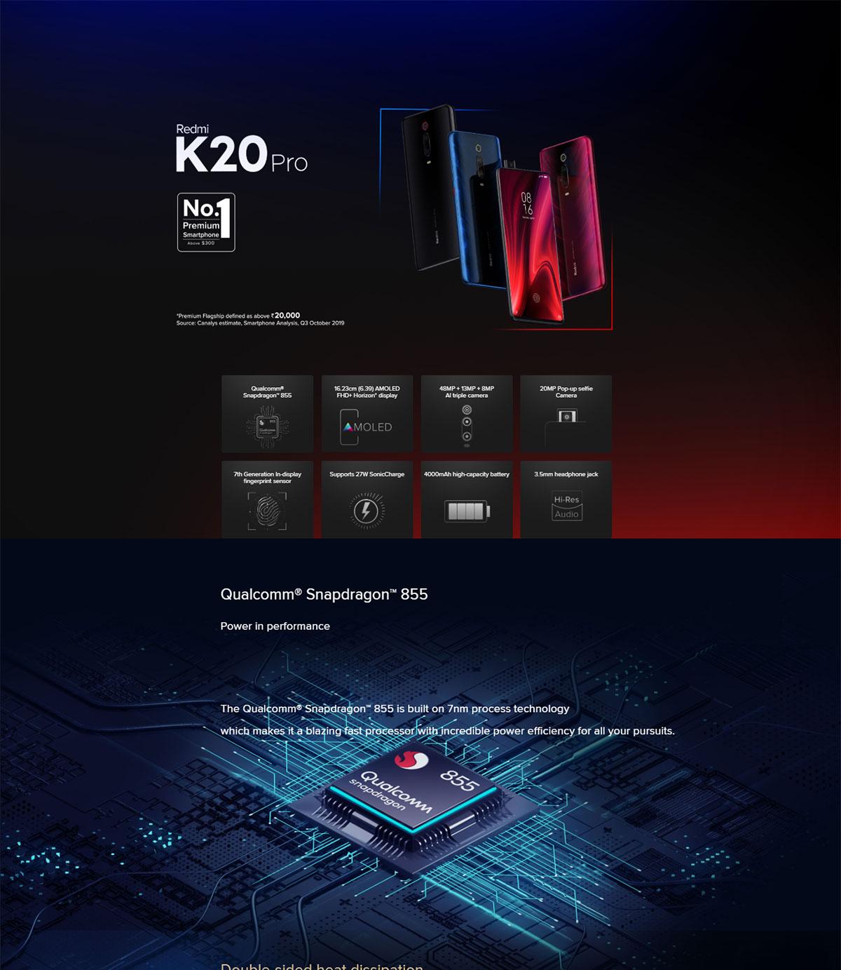 گوشی شیائومی مدل Redmi K20 Pro ظرفیت 256 گیگابایت Redmi K20 Pro