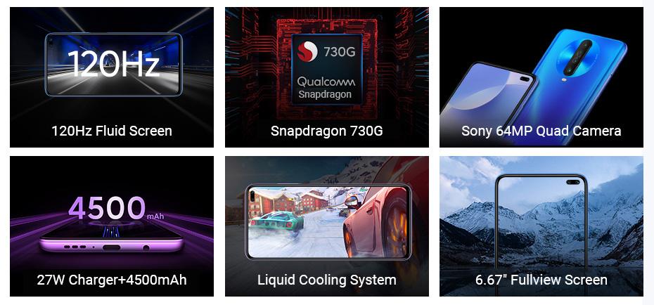 گوشی شیائومی مدل Redmi K30 ظرفیت 256 گیگابایت 1