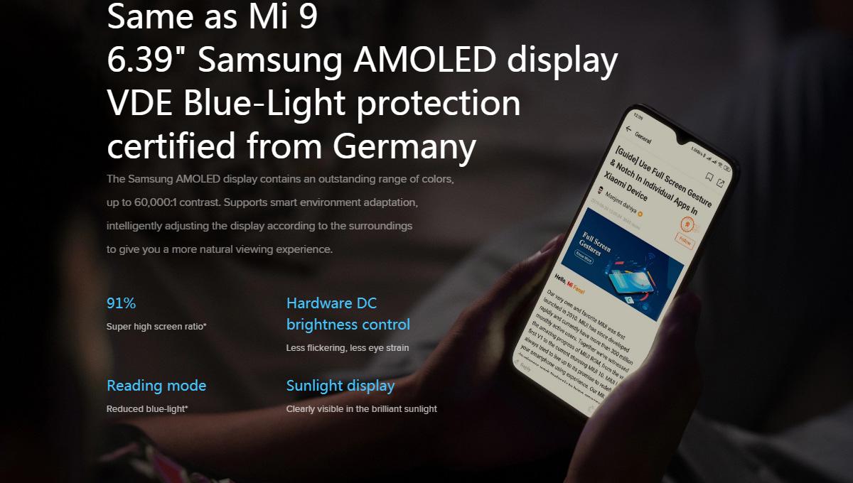 گوشی شیائومی مدل Mi 9 Lite ظرفیت 128 گیگابایت Mi 9 Lite