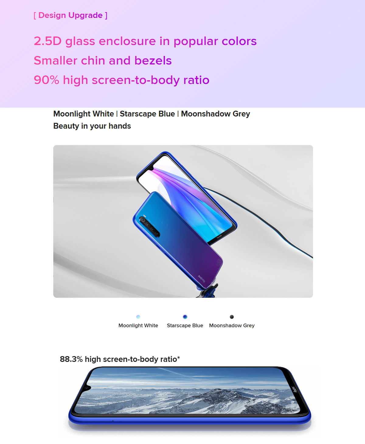 گوشی شیائومی مدل Redmi Note 8T ظرفیت 64 گیگابایت 2