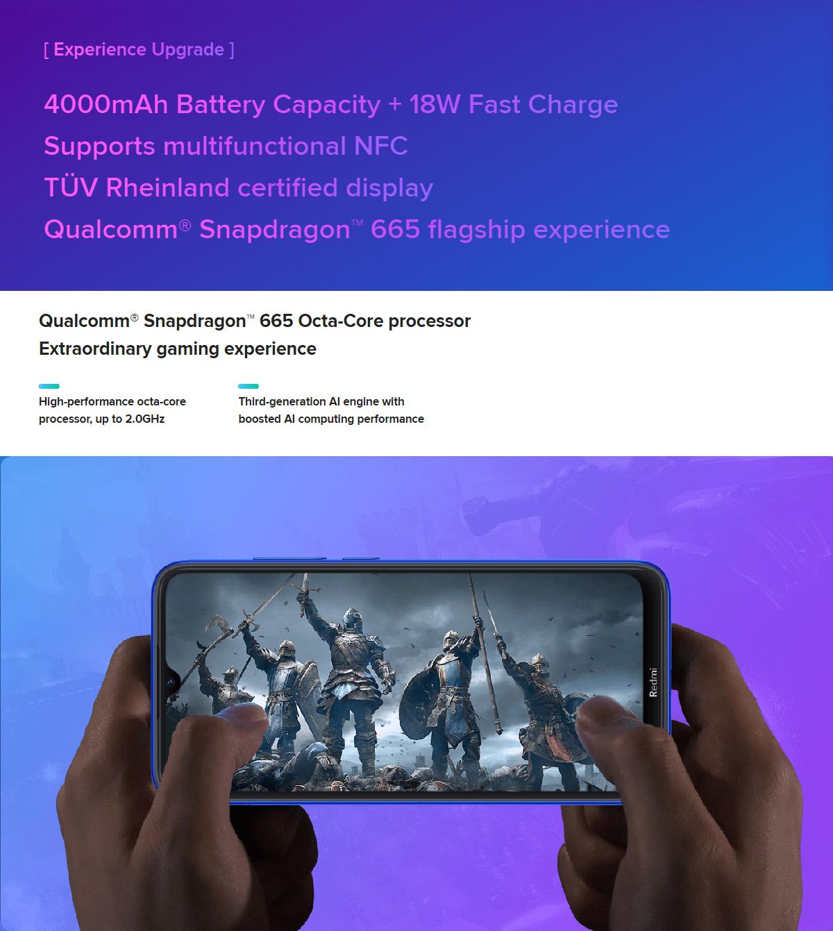 گوشی شیائومی مدل Redmi Note 8T ظرفیت 64 گیگابایت 8