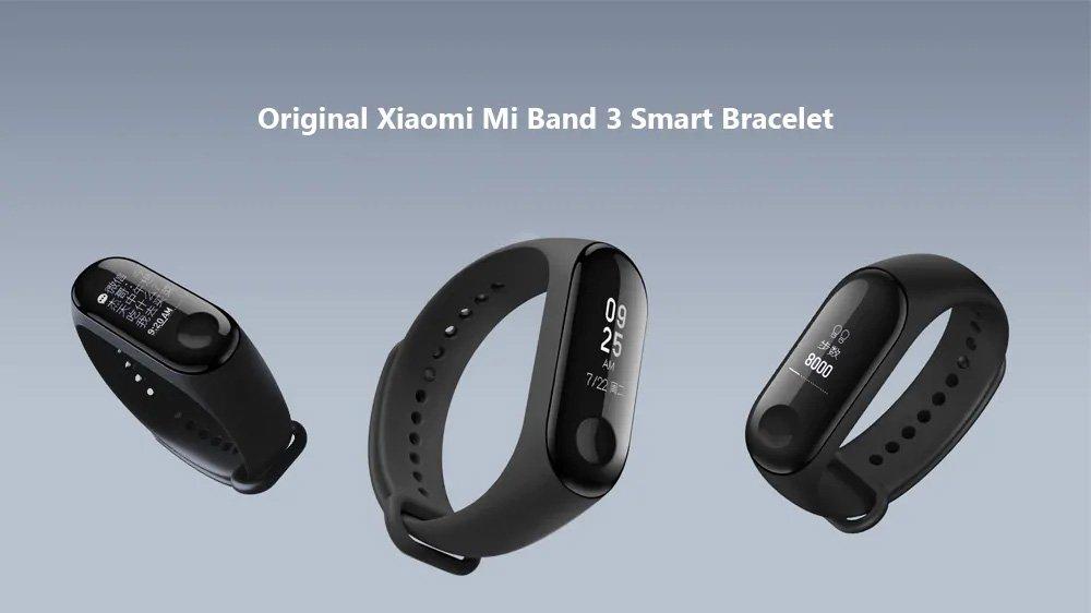 دستبند سلامتی شیائومی Mi Band 3 1
