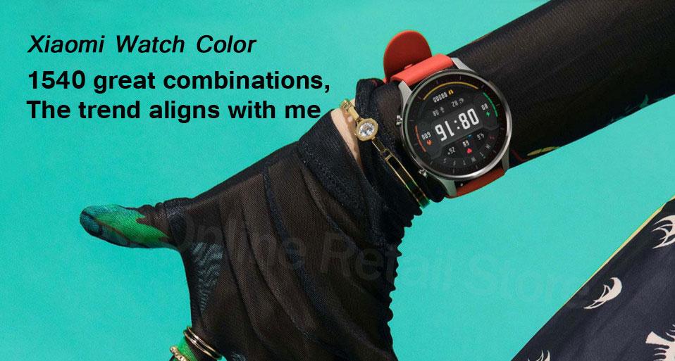 ساعت هوشمند شیائومی مدل Mi Watch Color Sport 1