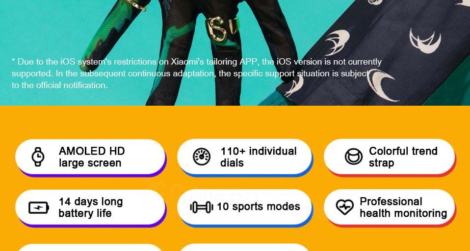 ساعت هوشمند شیائومی مدل Mi Watch Color Sport 2