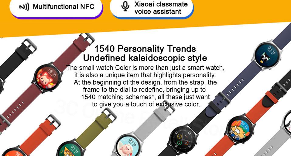 ساعت هوشمند شیائومی مدل Mi Watch Color Sport 3