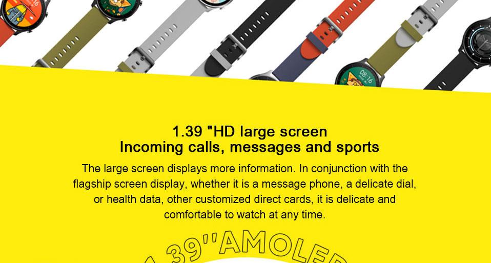 ساعت هوشمند شیائومی مدل Mi Watch Color Sport 4