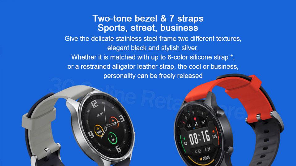 ساعت هوشمند شیائومی مدل Mi Watch Color Sport 6