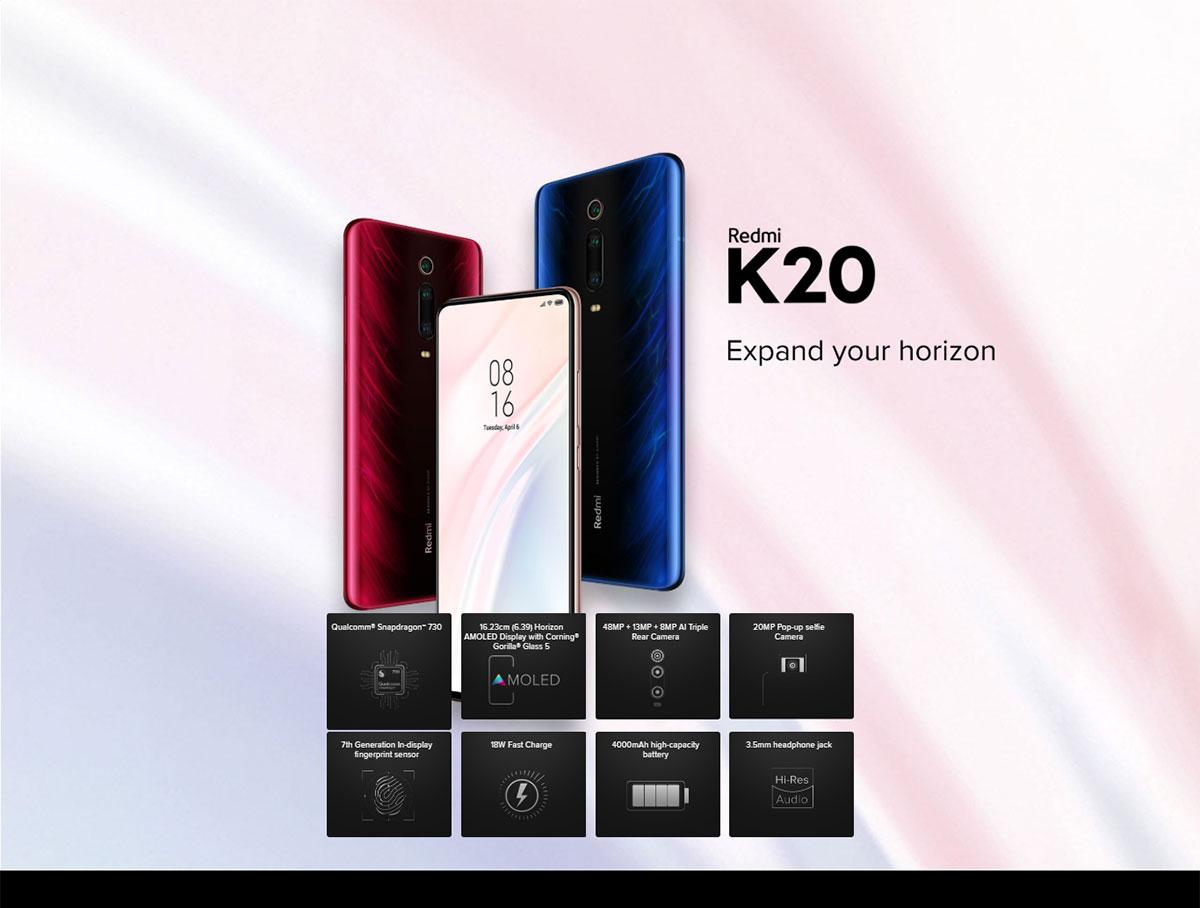 گوشی شیائومی مدل Redmi K20 ظرفیت 256 گیگابایت 1