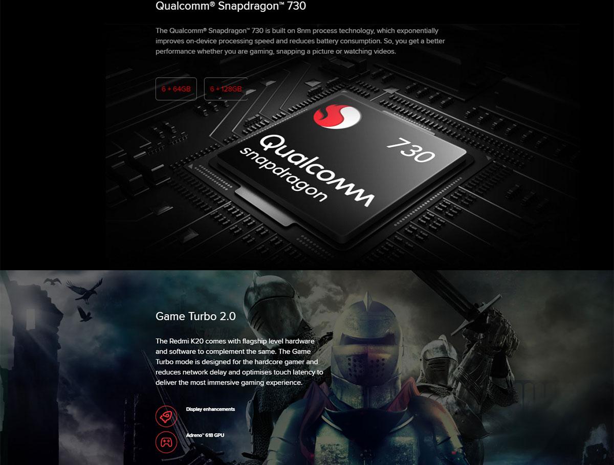 گوشی شیائومی مدل Redmi K20 ظرفیت 256 گیگابایت 2