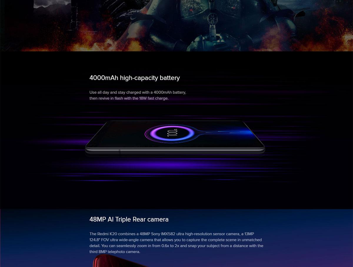 گوشی شیائومی مدل Redmi K20 ظرفیت 256 گیگابایت 3