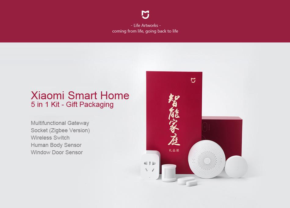 کیت خانه هوشمند شیائومی مدل Mijia Smart Home Set 1