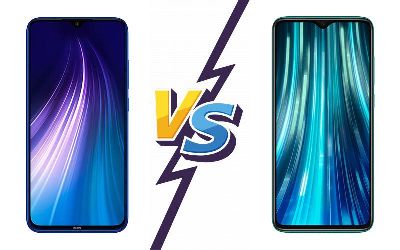 تفاوت گوشی شیائومی Redmi Note 8 Pro و Redmi Note 8 تفاوت گوشی شیائومی