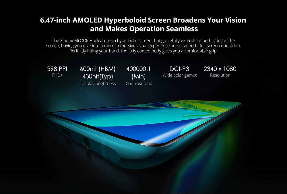 گوشی شیائومی مدل Mi CC9 Pro ظرفیت 256 گیگابایت Mi CC9 Pro