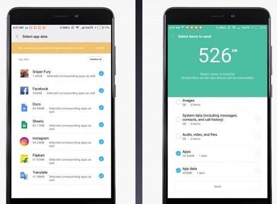گوشی هوشمند شیائومی و نحوه انتقال داده 2020 8