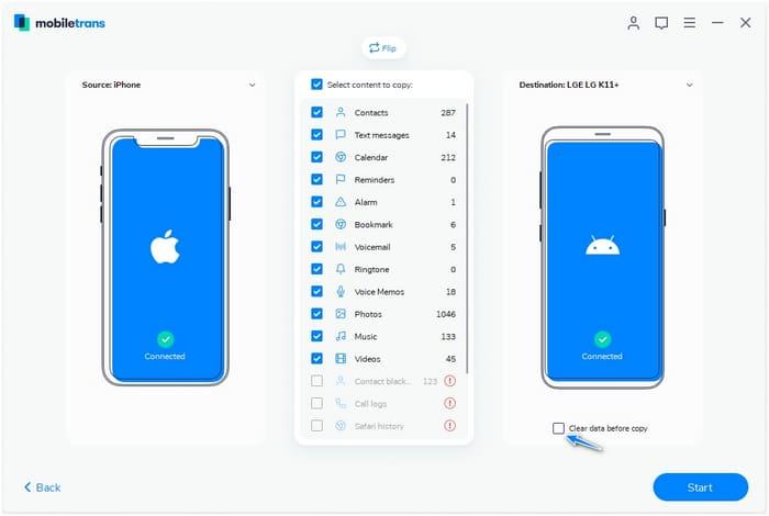 گوشی هوشمند شیائومی و نحوه انتقال داده 2020 5