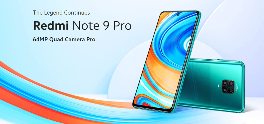 گوشی شیائومی مدل Note 9 Pro ظرفیت 128 گیگابایت 1