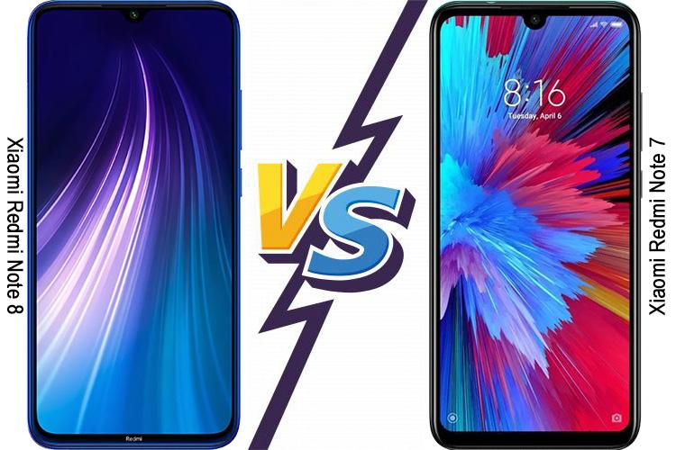 تفاوت گوشی شیائومی Redmi Note 7 و Redmi Note 8 تفاوت گوشی شیائومی