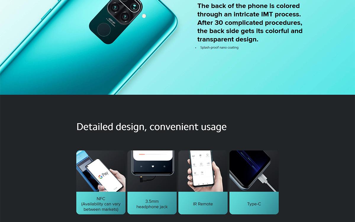 گوشی شیائومی مدل Redmi Note 9 ظرفیت 64 گیگابایت 12