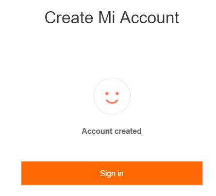 چگونه میتوان حساب Mi Cloud (حساب کاربری شیائومی) ایجاد کرد؟ 6