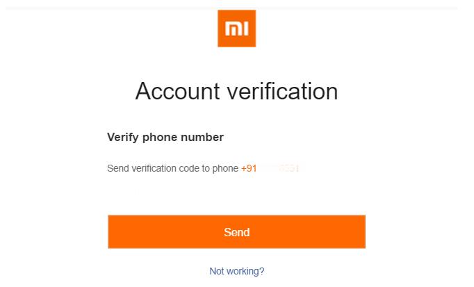 چگونه میتوان حساب Mi Cloud (حساب کاربری شیائومی) ایجاد کرد؟ 8