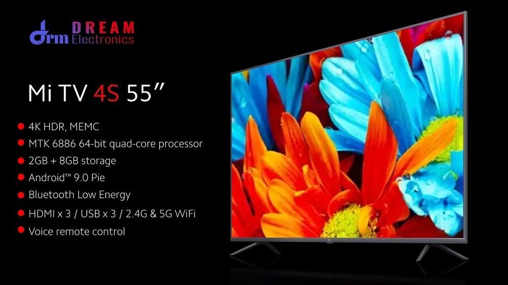 تلویزیون 55 اینچ شیائومی مدل Mi TV 4S 55 گلوبال Mi TV 4S 55