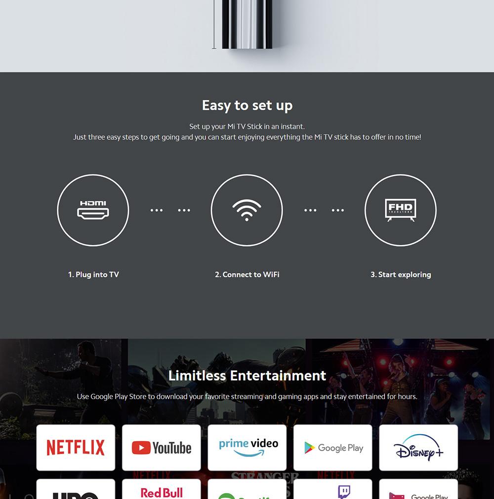 دانگل شیائومی مدل Mi Tv Stick Mi Tv Stick