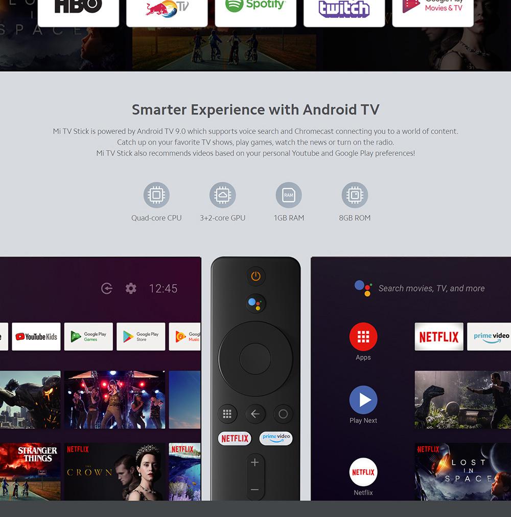 دانگل شیائومی مدل Mi Tv Stick 3