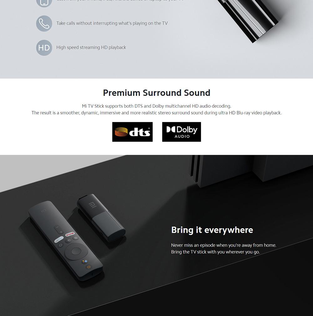 دانگل شیائومی مدل Mi Tv Stick 5