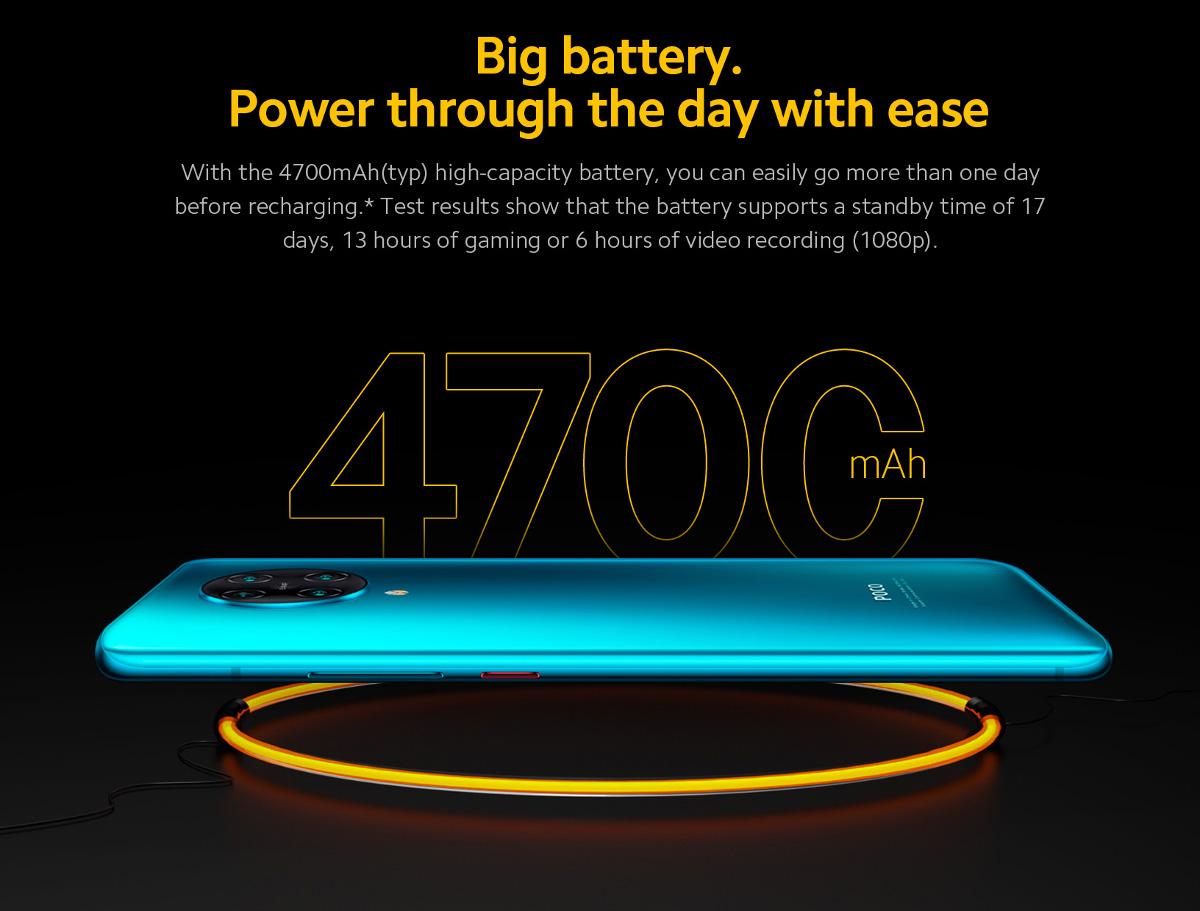 گوشی شیائومی مدل POCO F2 Pro ظرفیت 128 گیگابایت 4