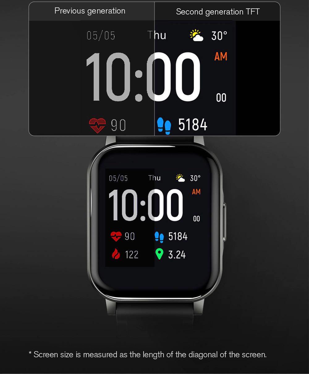 ساعت هوشمند شیائومی مدل Haylou LS02 14