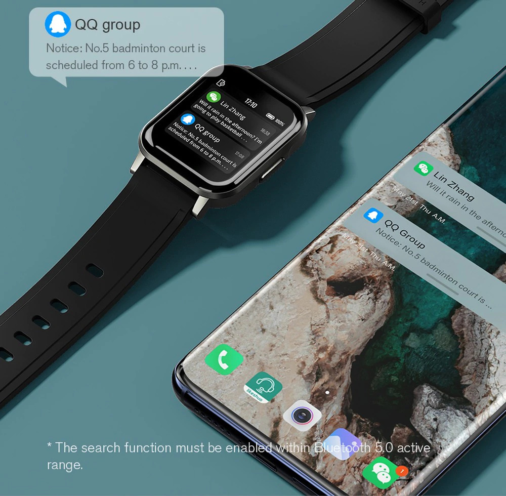 ساعت هوشمند شیائومی مدل Haylou LS02 20