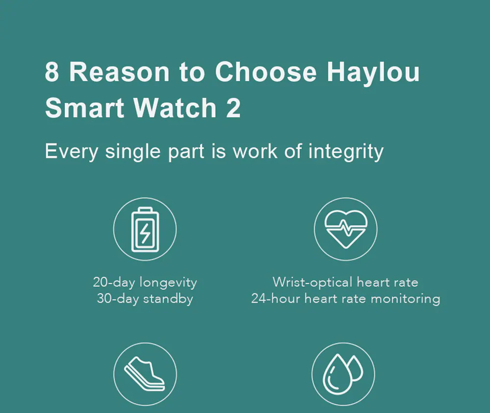 ساعت هوشمند شیائومی مدل Haylou LS02 2