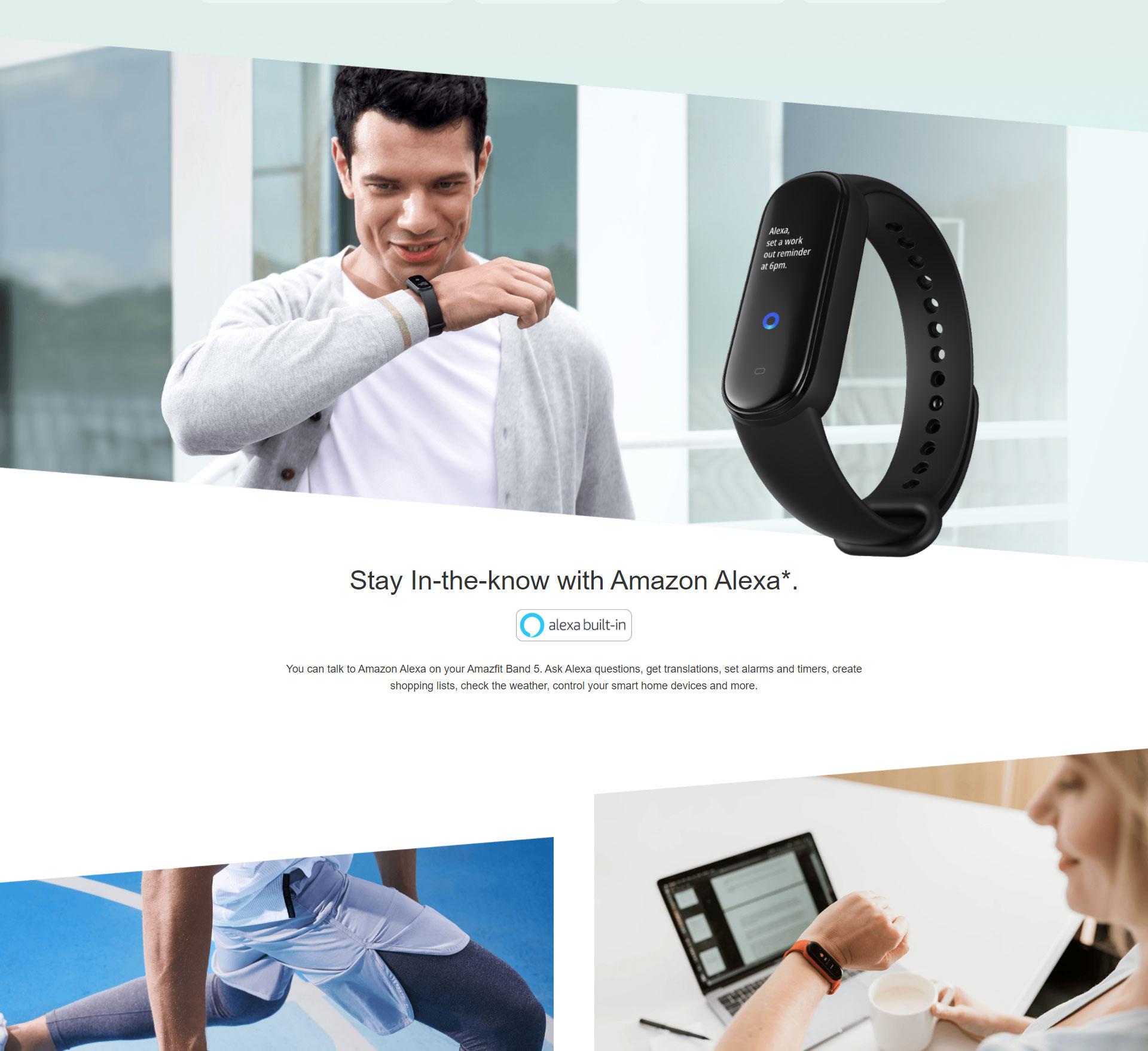 دستبند سلامتی شیائومی مدل Amazfit Band 5 1