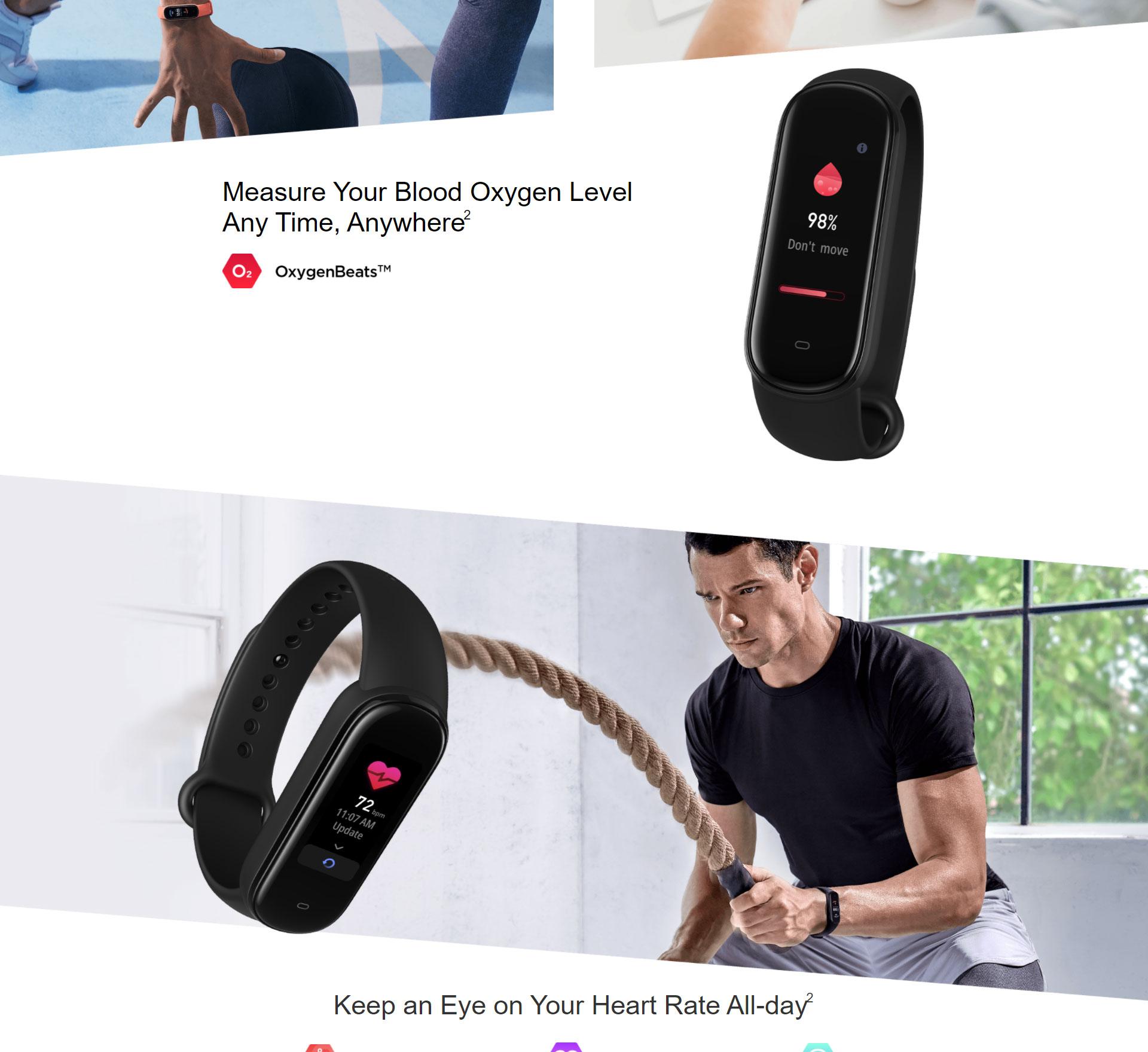 دستبند سلامتی شیائومی مدل Amazfit Band 5 2