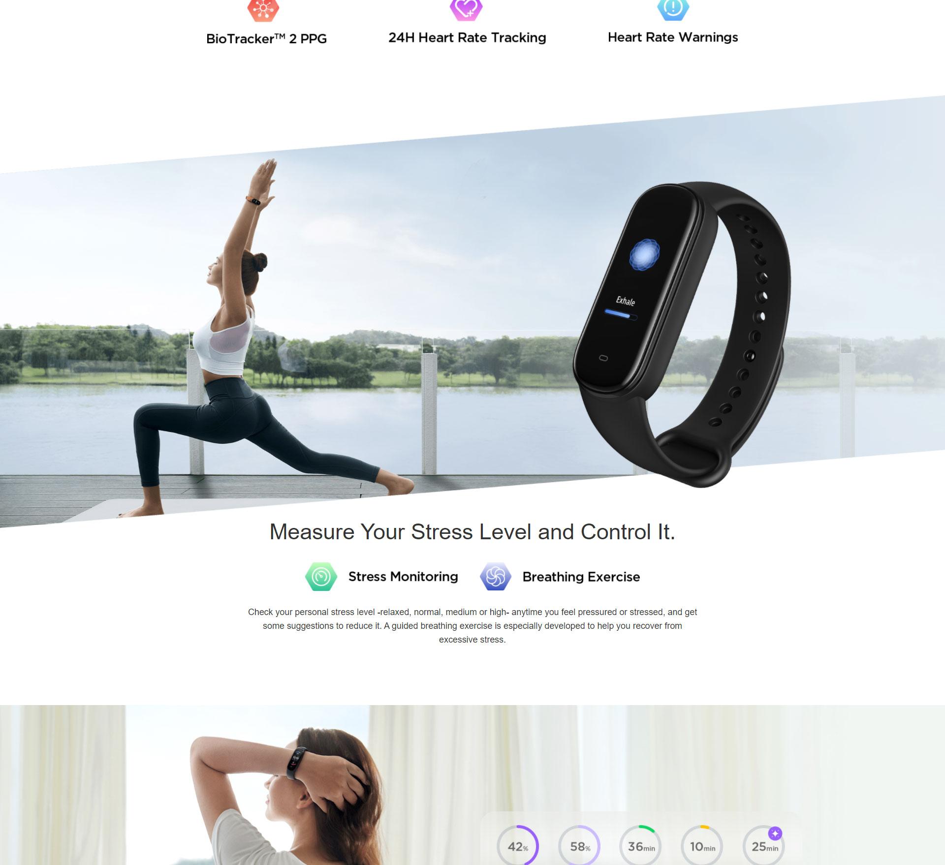 دستبند سلامتی شیائومی مدل Amazfit Band 5 3