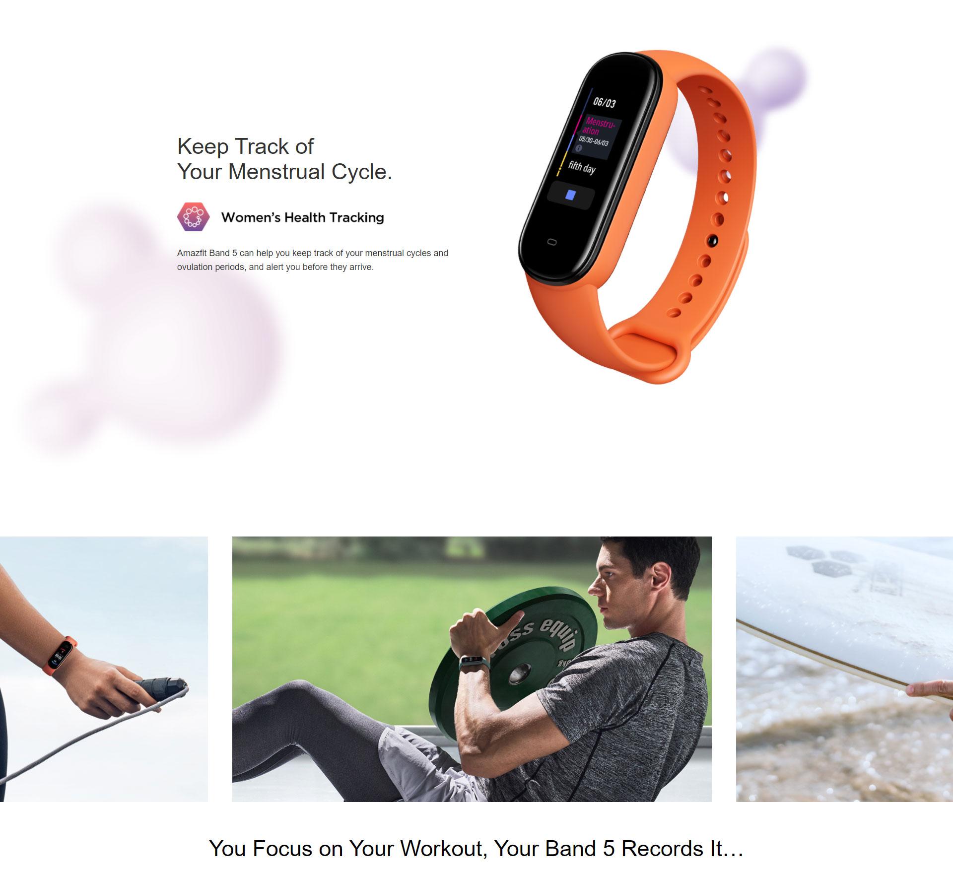 دستبند سلامتی شیائومی مدل Amazfit Band 5 5