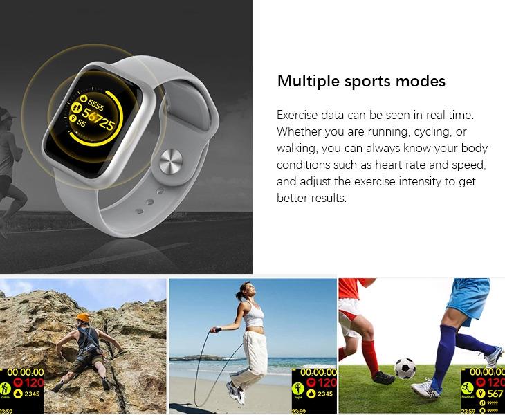 ساعت هوشمند وان مور اومتینگ E-Joy مدل WOD001 ساعت هوشمند وان مور اومتینگ E-Joy مدل WOD001