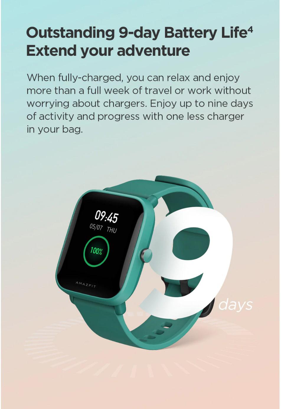 ساعت هوشمند شیائومی مدل Amazfit Bip U ساعت هوشمند شیائومی مدل Amazfit Bip U