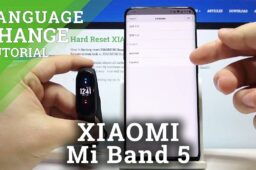 change mi band 5 to farsi