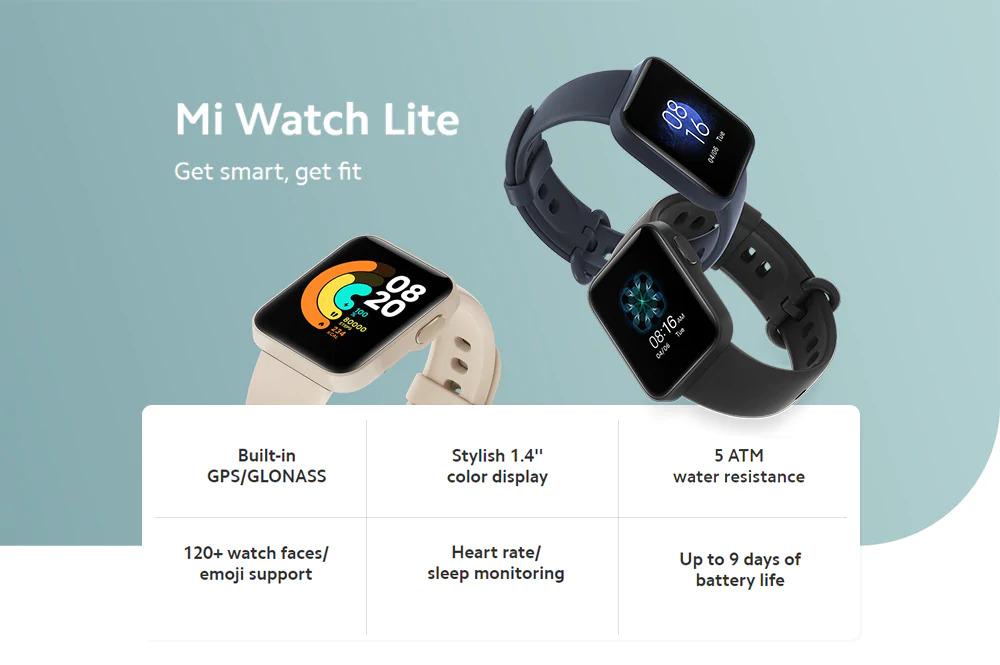 ساعت هوشمند شیائومی مدل Mi Watch Lite 1