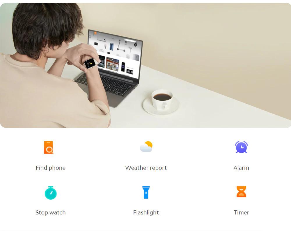ساعت هوشمند شیائومی مدل Mi Watch Lite 9