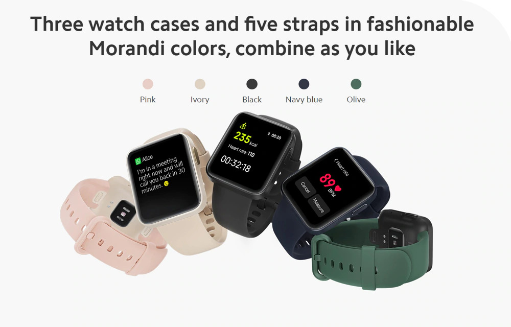 ساعت هوشمند شیائومی مدل Mi Watch Lite 10