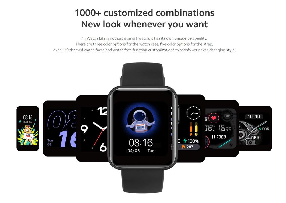 ساعت هوشمند شیائومی مدل Mi Watch Lite ساعت هوشمند شیائومی مدل Mi Watch Lite