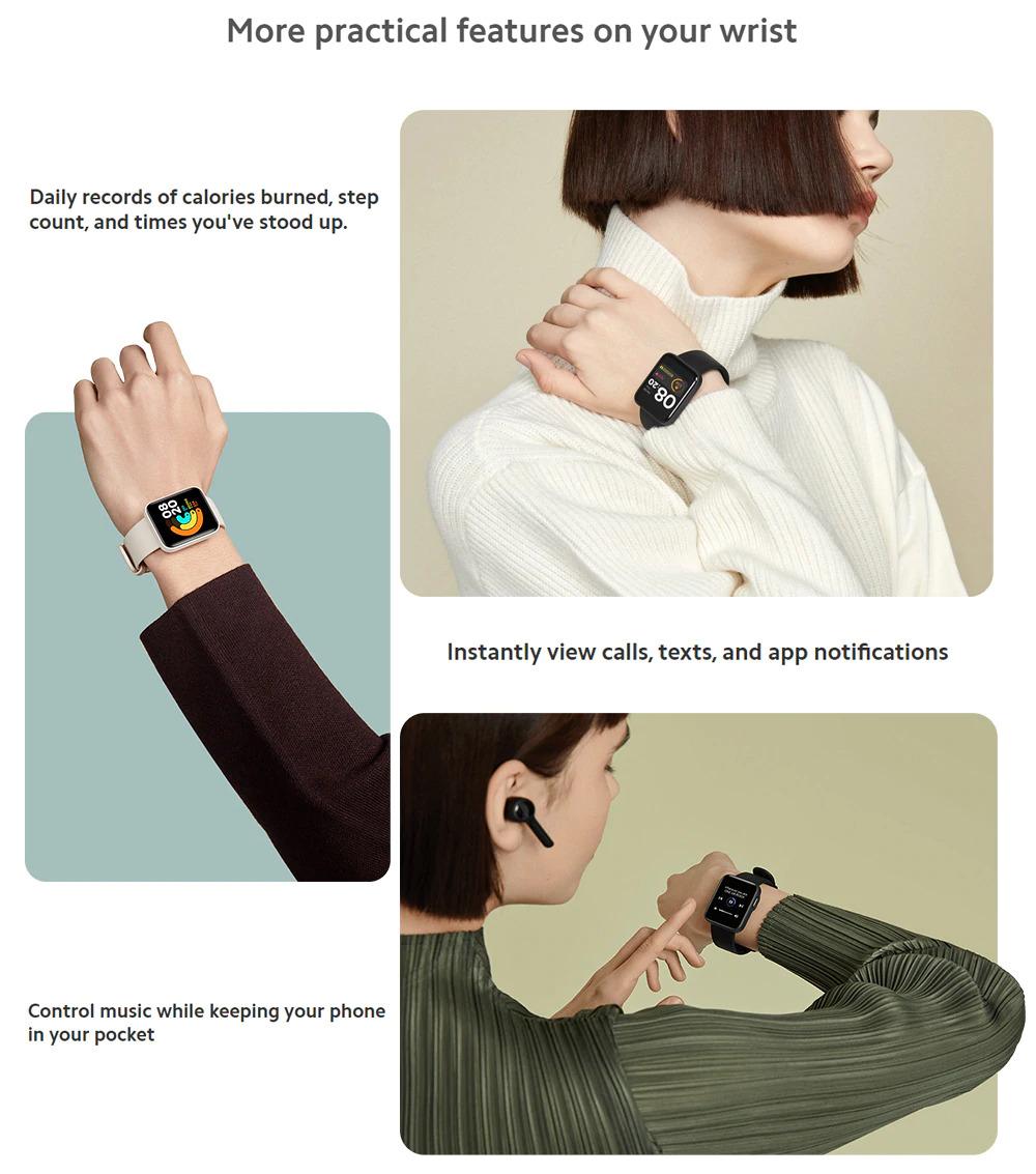 ساعت هوشمند شیائومی مدل Mi Watch Lite 8