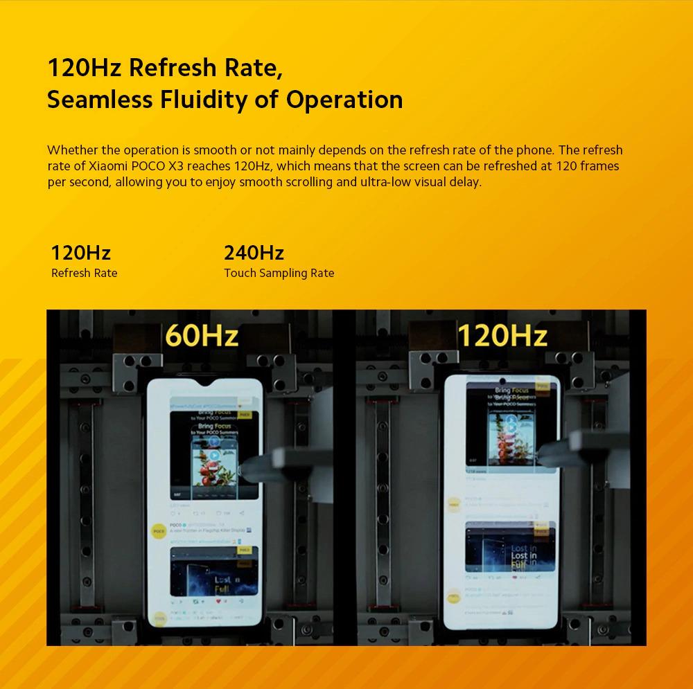 گوشی شیائومی مدل پوکو ایکس 3 مدل NFC ظرفیت 6/64 گیگابایت 3